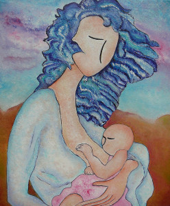 motherhood-painting-everywhere-original-oil-by-gioia-albano-gioia-albano